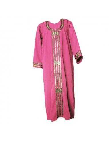 Abaya pour enfant rose