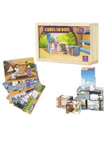 Puzzle de cube en bois