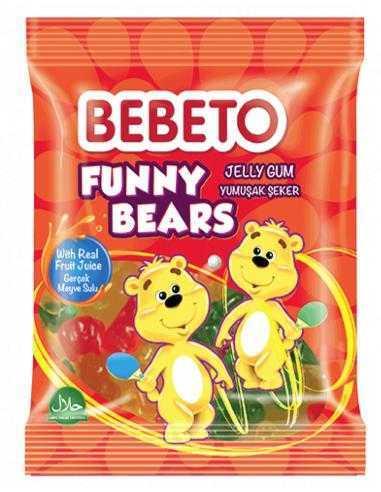 Bonbons Halal Funny Bears Bebeto