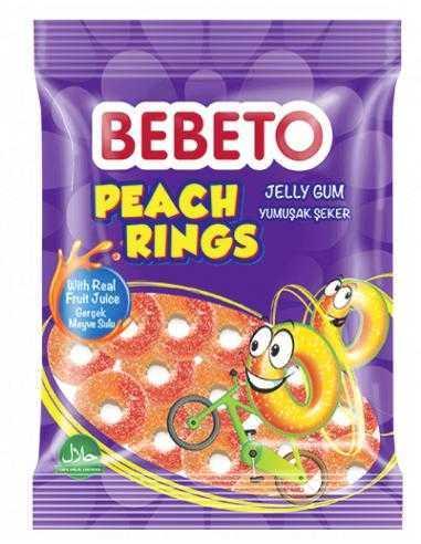 Bonbons Halal Peach Rings Bebeto