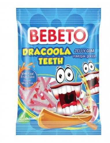 Bonbons Halal Dracoola Teeth Bebeto