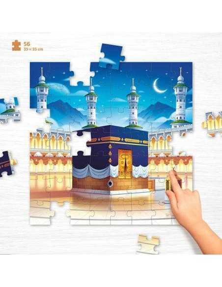 Puzzle pour enfant makkah