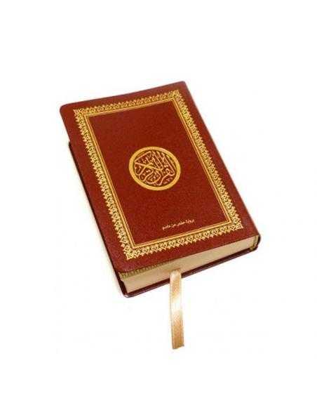 Coran rouge format de poche - Lecture Hafs